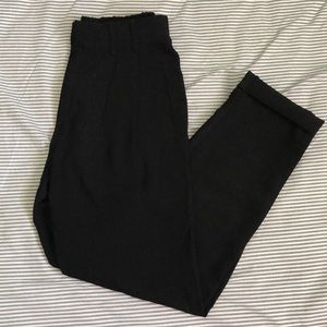 Urban Outfitters Pants - UO Pleated High-Rise Trousers